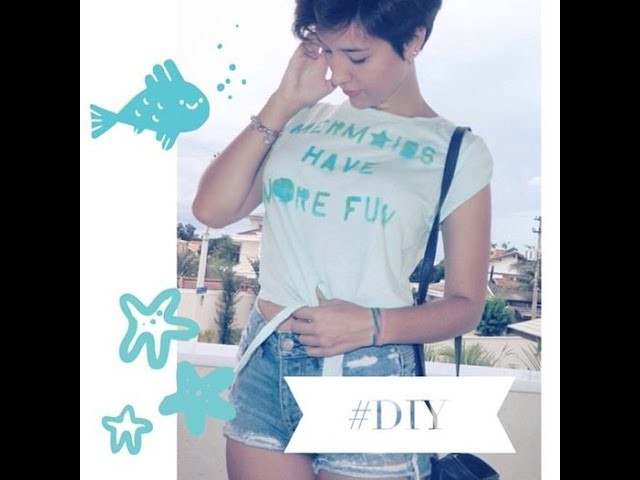 D.I.Y - CAMISETA - MERMAIDS HAVE MORE FUN