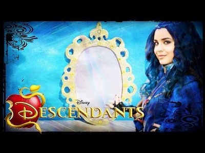 Disney Descendentes - Tutorial Espelho Mágico da Evie! DIY Evie's Magic Mirror Descendants