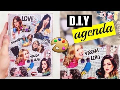 DIY #17: Personalizando agenda.caderno como você sempre quis