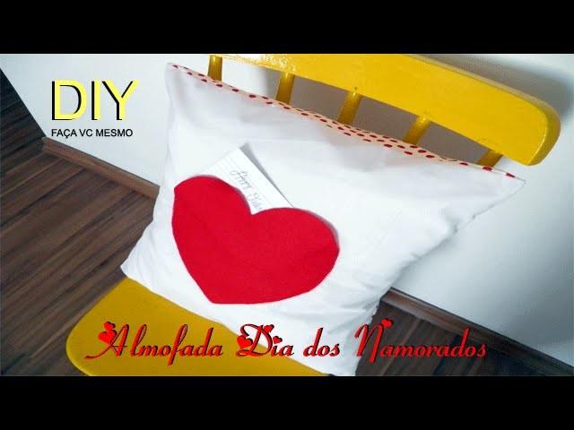 DIY - Almofada Dia dos Namorados | Penéllope - vd9