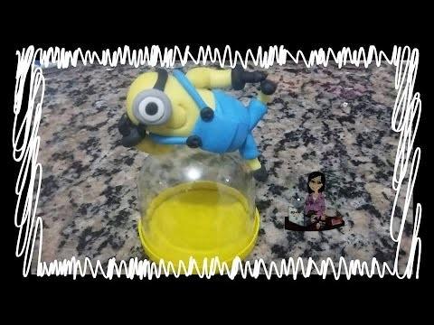 DIY- Cantinho dos Sonhos-Minions-biscuit-aulas