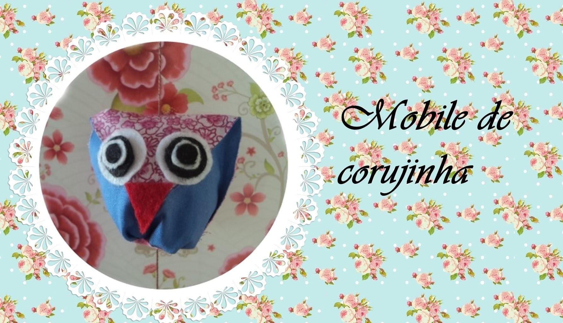 DIY - Mobile de corujinha | Penteadeira de palavras