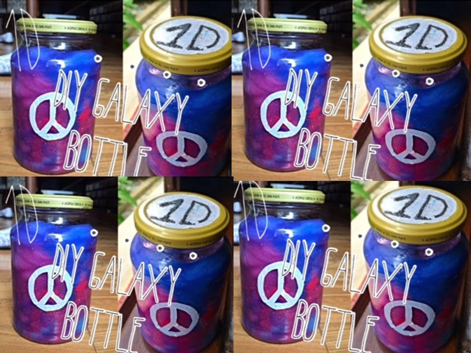 DIY - 1D Galaxy Bottle
