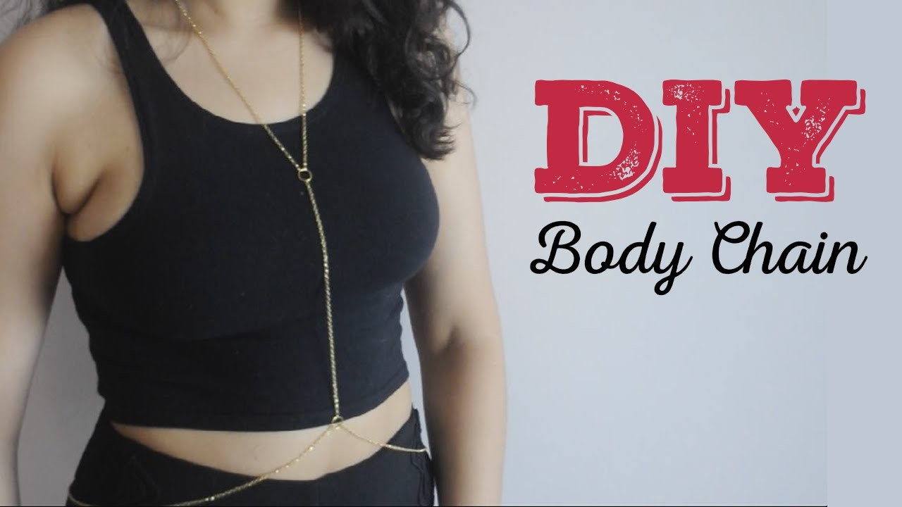 DIY - Body Chain | Vai Nessa