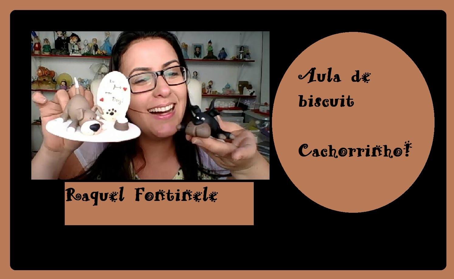 DIY- Cachorrinho em Biscuit - Raquel Fontinele