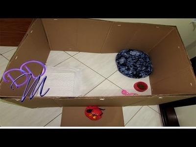 DIY:Como fazer Cercadinho de papelão para filhotes