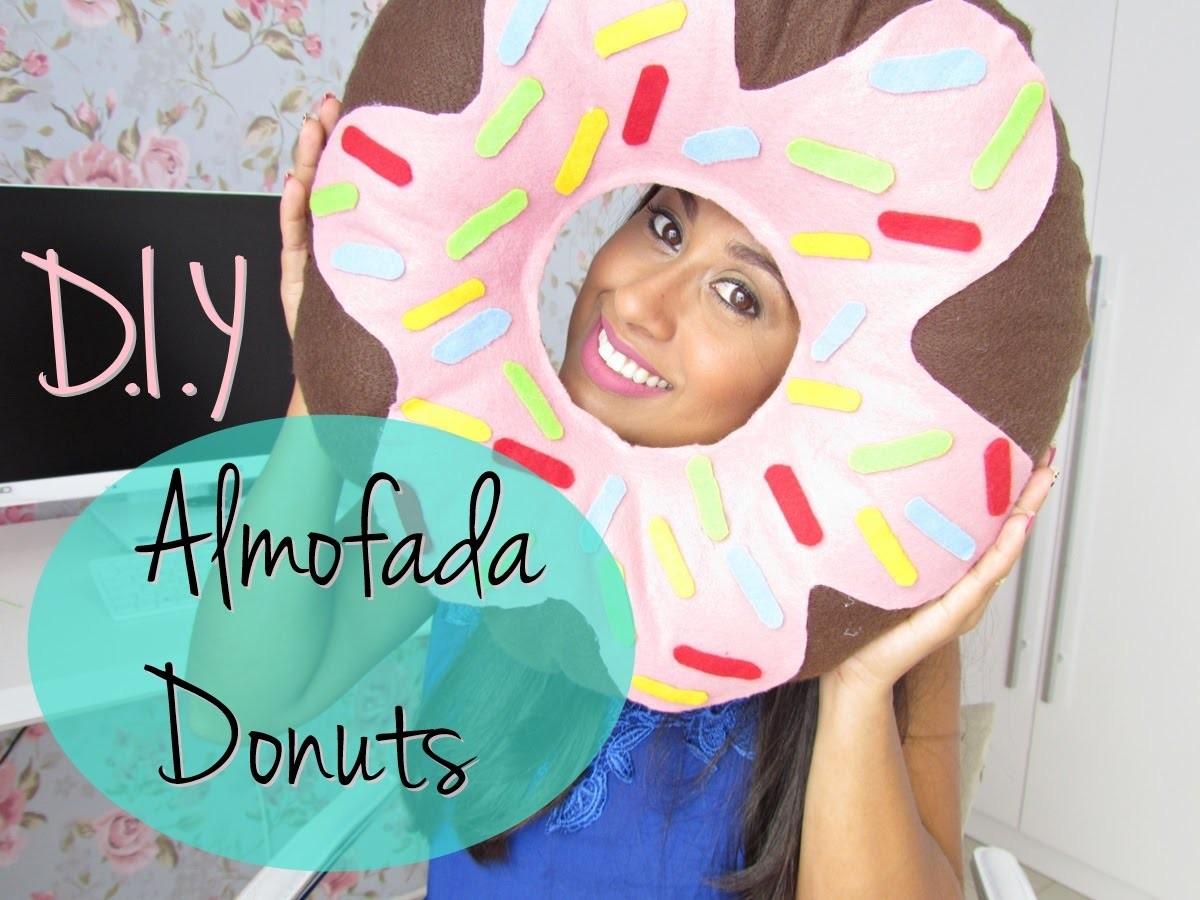 D.I.Y Almofada Donuts | Decoração Parte 7