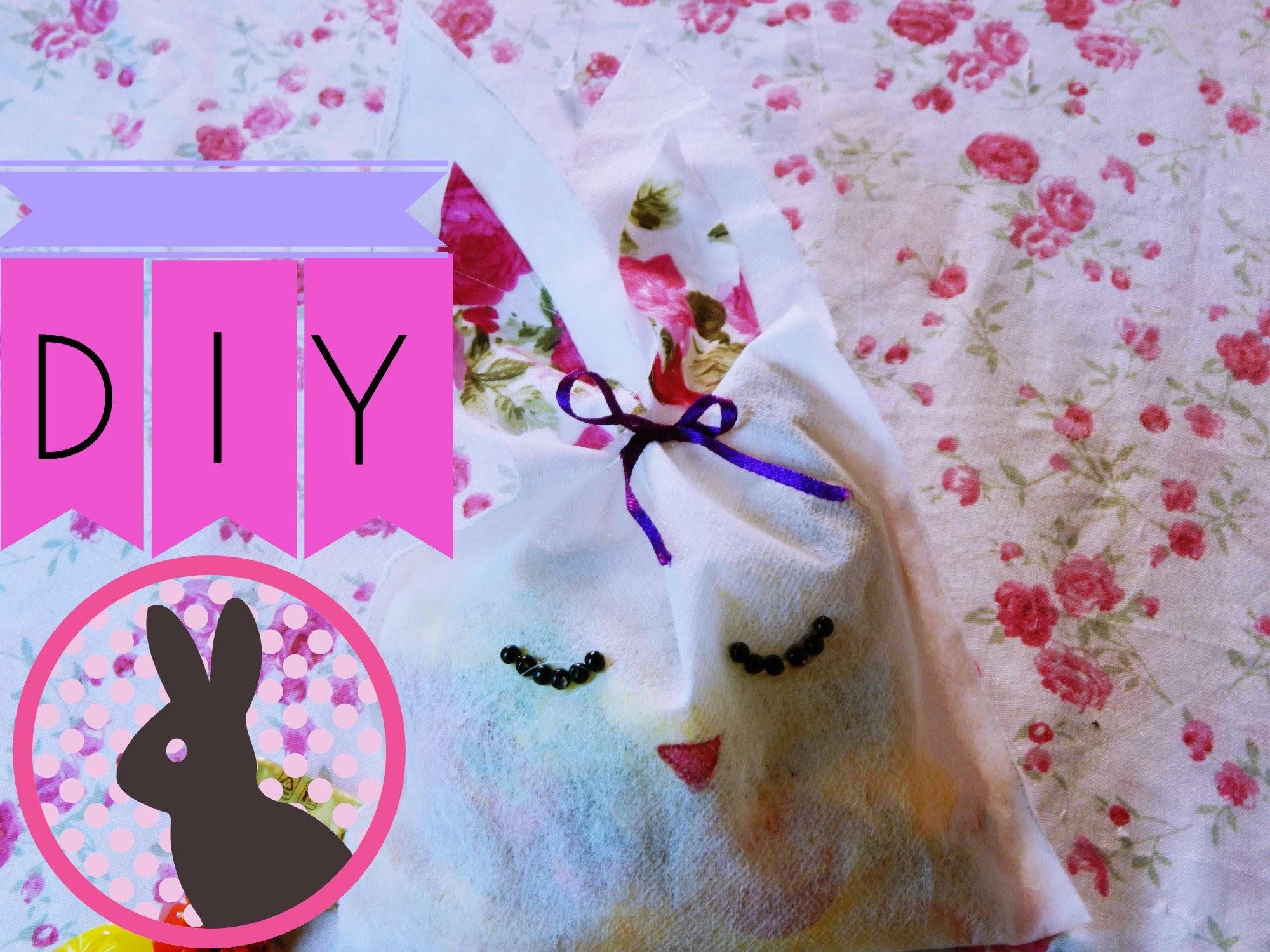 DIY-Faça você mesma-lembrancinha fofa de Páscoa♥