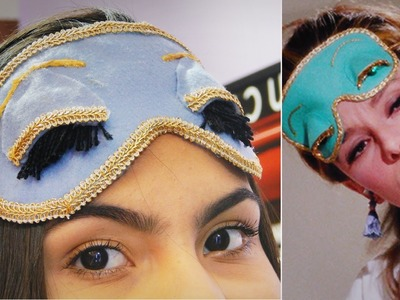 DIY: Tapa olho p. dormi Bonequinha de Luxo #Veda23 | Andressa Moraes