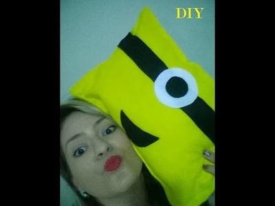 Diy - Almofada Minion