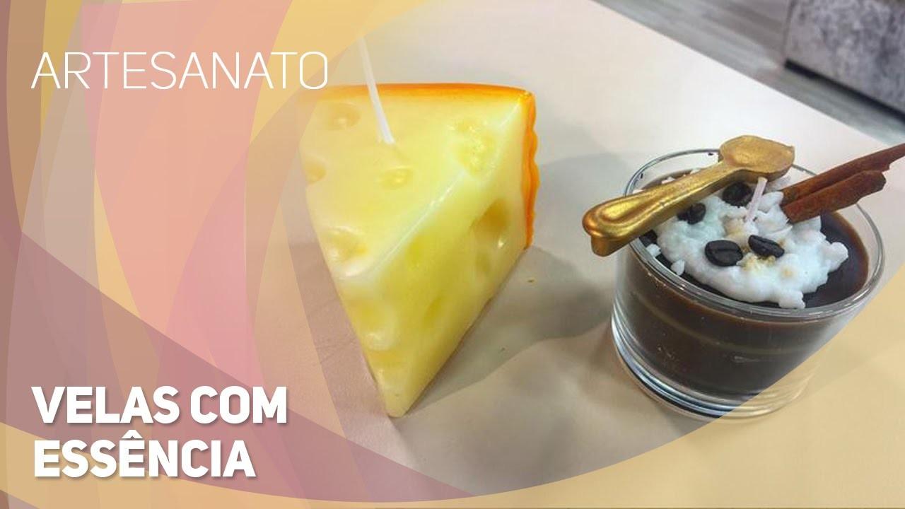 Artesanato - Velas com essência (15.09.2015)