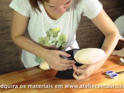 Boneco pirata - Artesanato - Ateliê Centauro - Artesã Sara Gonçalves