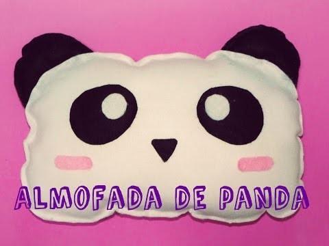 DIY - Almofada de Panda - Panda Pillow