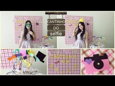 DIY: Cantinho do Selfie - Faça Você Mesma