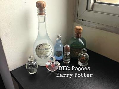 ✂ DIY: Poções Harry Potter
