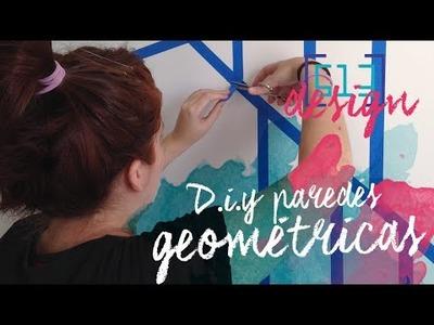 D.I.Y: Paredes Geométricas | 513 Design