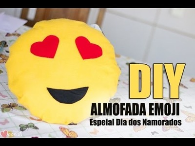 DIY - EMOJI APAIXONADO - ESPECIAL DIA DOS NAMORADOS