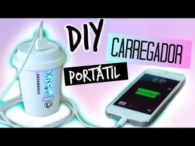 DIY: CARREGADOR PORTÁTIL DO STARBUCKS
