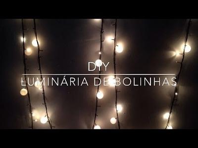 DIY: Luminária De Bolinhas - Por Marina Tiago