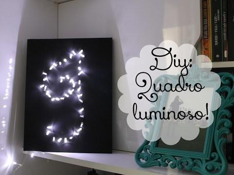 DIY: Quadro luminoso