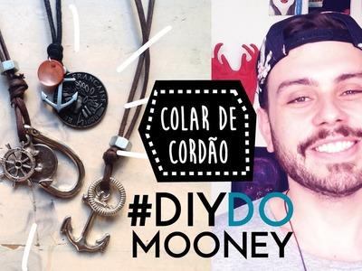 Como fazer um colar de cordão com pingentes | DIY | DANIEL MOONEY