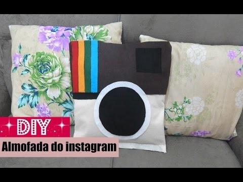 DIY: Almofada do instagram | Luana Souza