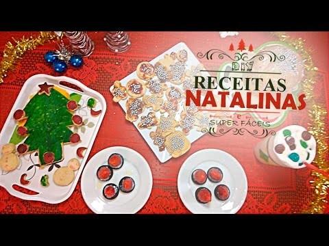 DIY- Receitas de Natal Muito Fáceis e Rápidas! Mesa Decorada e Gostosa | LetíciaDIY