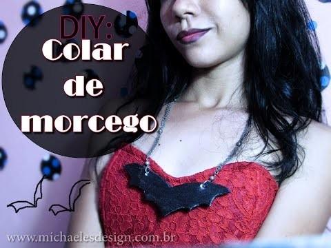 DIY | Colar de Morcego
