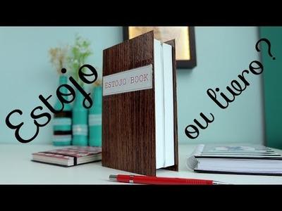 [DIY] Estojo em formato de livro