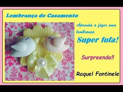 DIY-Lembrancinha para casamento  - Raquel Fontinele