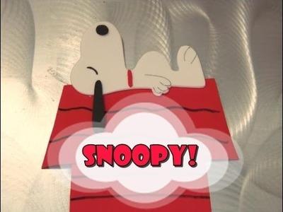 DIY.: Snoopy - Peanuts