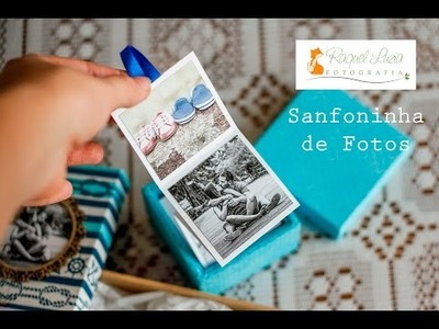 Tutorial Sanfoninha de Fotos - DIY