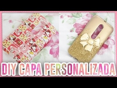 DIY CAPA PERSONALIZADA PRA CELULAR ♥ Fala Dantas