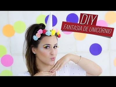 DIY - Fantasia de Carnaval - Unicórnio | Drops das Dez