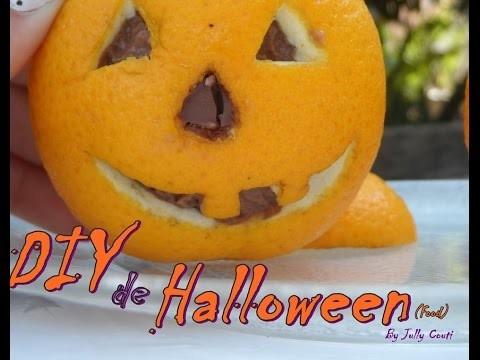 Diy:Halloween Food. Sobremesa De Halloween