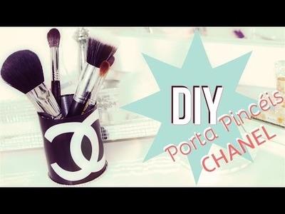 DIY Porta Pincéis Chanel | thatilovato