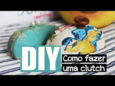 DIY: Quer aprender fazer uma clutch?