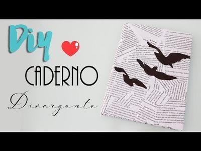 DIY volta às aulas: Caderno Divergente - Tatuagem da Tris Prior