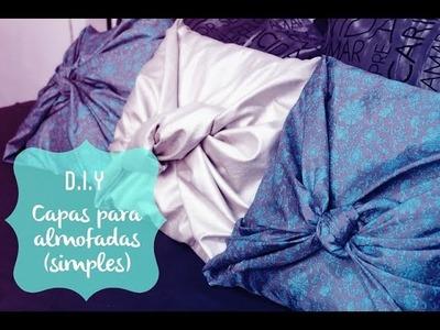 D.I.Y. | Capa para almofada simples