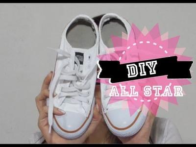DIY- Customização de tênis