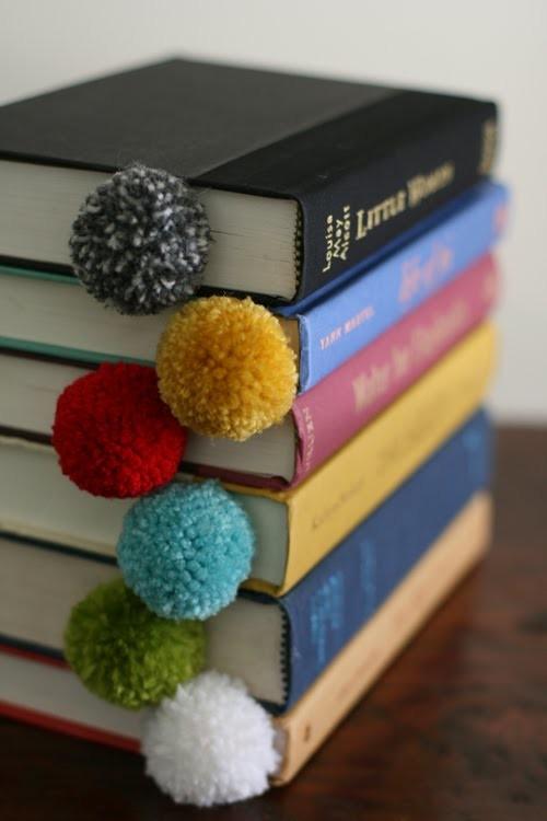 DIY: Marca Páginas de Pompom