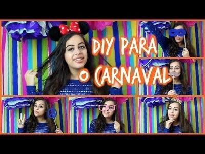DIY para animar sua festa de carnaval!