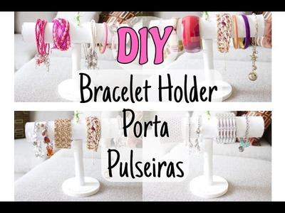DIY porta pulseiras -  bracelet Holder