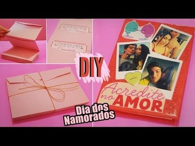 DIY: Presentes para o namorado. Valentine's Day Ideas
