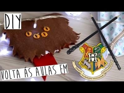 DIY Volta ás aulas em Hogwarts! Bloquinho e Lápis Varinha!