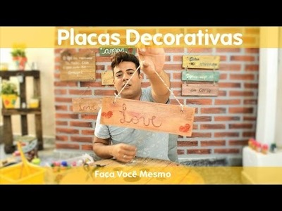 Placas Decorativas (DIY)