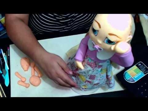 DIY Bebezinha de biscuit parte ll