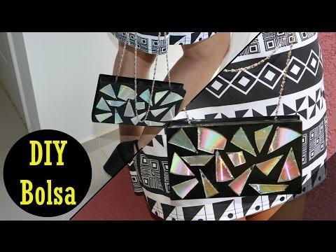 DIY | Bolsa com Capa de Fita Cassete.