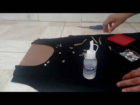 DIY: Customização de roupa velha