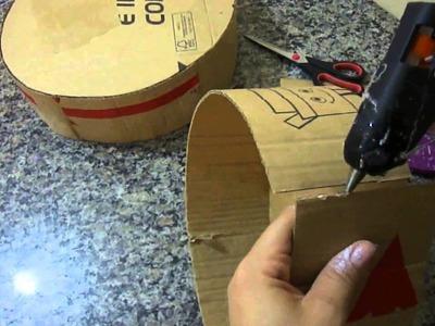 DIY - Faça você mesmo - Base bolo fake de papelão